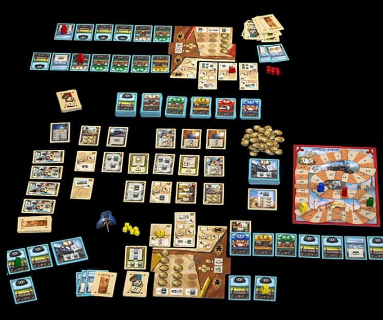 Best Train Board Games first class overview