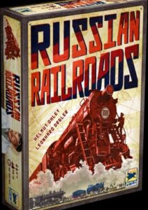 Best Train Board Games russian railroads box