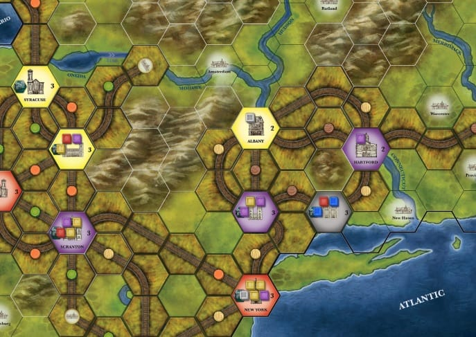 Best Train Board Games Steam Rails to Riches