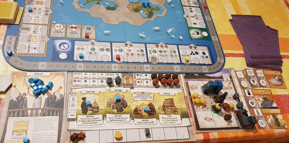 Tapestry Board Game Review Main View