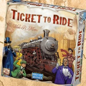 Best Train Board Games ticket to ride box