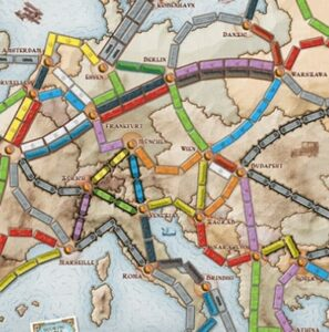 Best Train Board Games ticket to ride europe