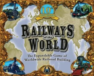 Best Train Board Games railways of the world logo