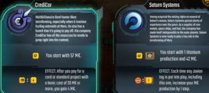 Terraforming Mars Board Game Review corporations