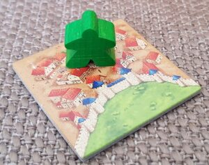 Carcassonne vs Kingdomino Kingdomino Carcassonne Meeple