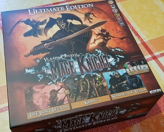 Best Solo Board Games Mage Knight Box