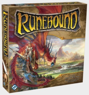 Mage Knight vs Runebound Runebound Box