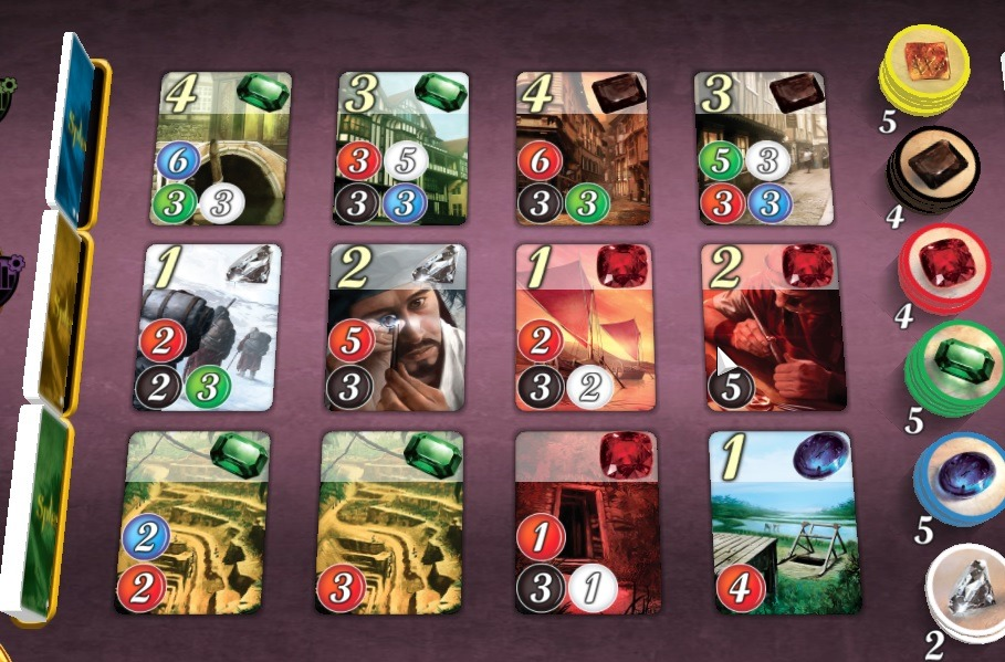 Splendor Board Game Review Board
