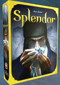 Splendor Board Game Review Box