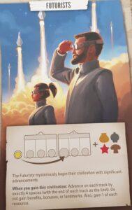 Tapestry Board Game Civilizations Futurists