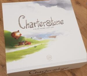 Charterstone Board Game Review Box