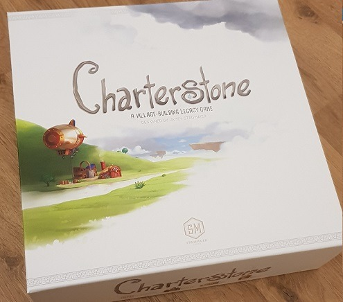 best legacy board games Charterstone Box