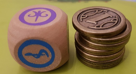 Charterstone Board Game Review Coins