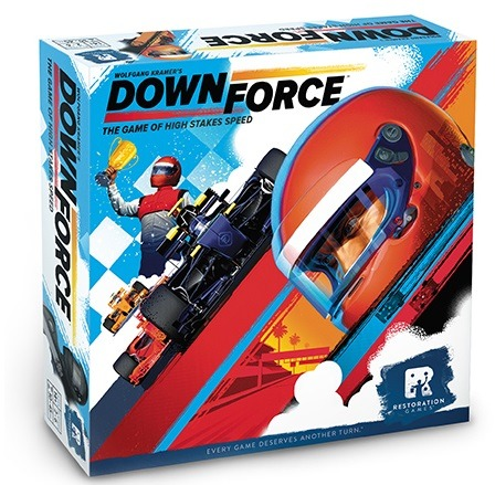 Best Auto Racing Board Games downforce box