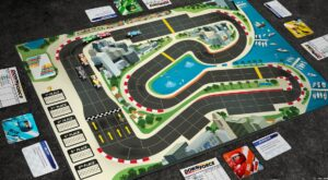 Best Auto Racing Board Games downforce layout overview