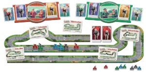 Best Auto Racing Board Games flamme rouge layout overview