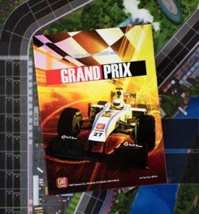 Best Auto Racing Board Games grand prix box