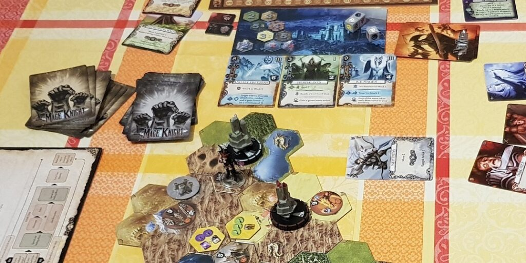 Mage Knight vs Gloomhaven Mage Knight