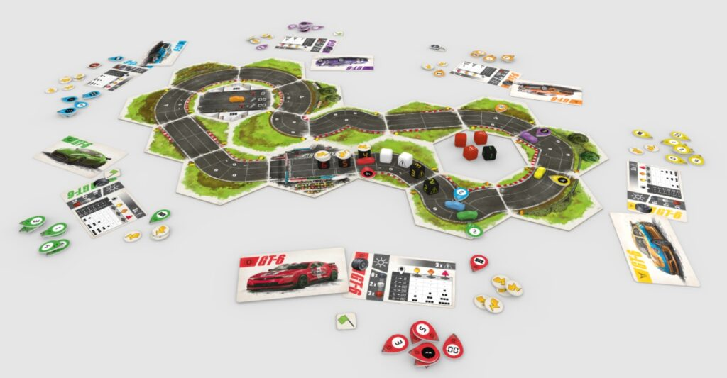 Best Auto Racing Board Games rallyman gt layout