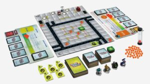 Best Auto Racing Board Games robo rally layout overview