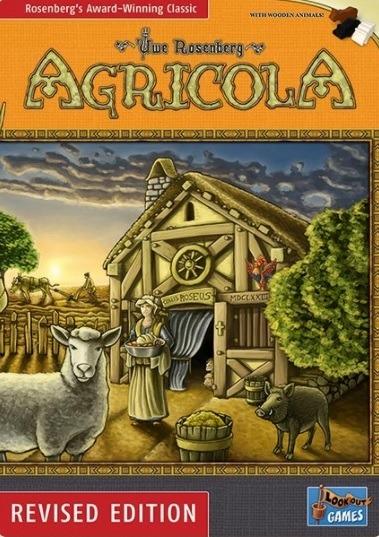 Most Popular Board Games Agricola Box