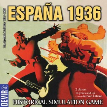 Best Civil War Board Games espana 1936 box