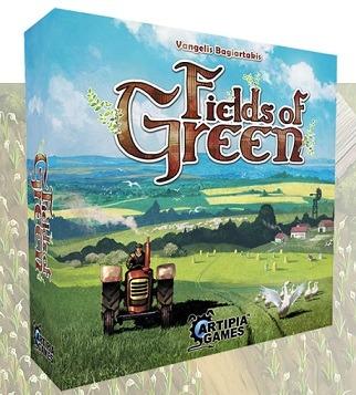Best Farming Board Games Fields of Green box