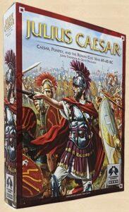 Best Civil War Board Games julius caesar box