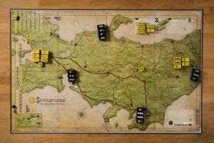 Best Civil War Board Games sekigahara map