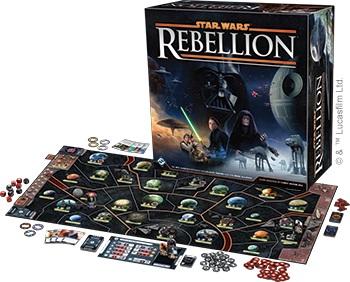 Best Civil War Board Games star wars rebellion box