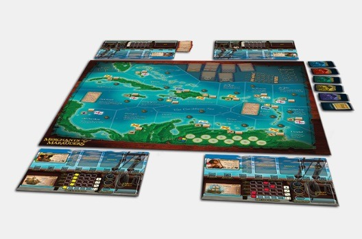 Best Pirate Board Games Merchants Marauders