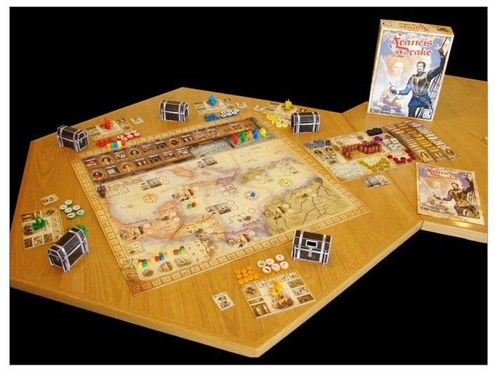 Best Pirate Board Games Francis Drake