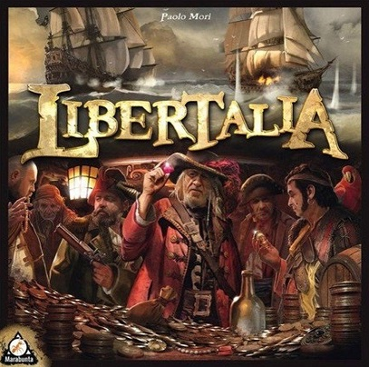 best pirate board games libertalia box
