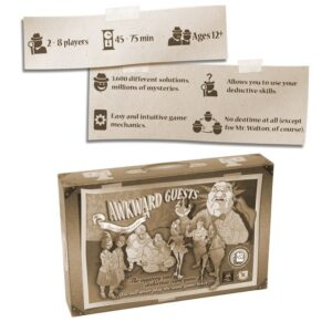 best detective board games awkward guests box