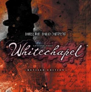 Best Detective Board Games letters from whitechapel cover