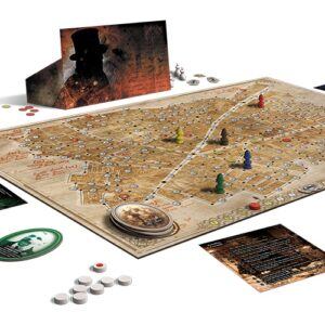 Best Detective Board Games letters from whitechapel map