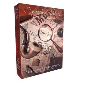 best detective board games sherlock holmes ripper box