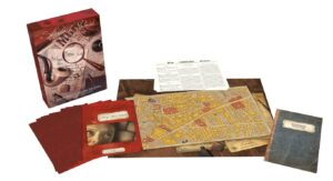 best detective board games sherlock holmes ripper components