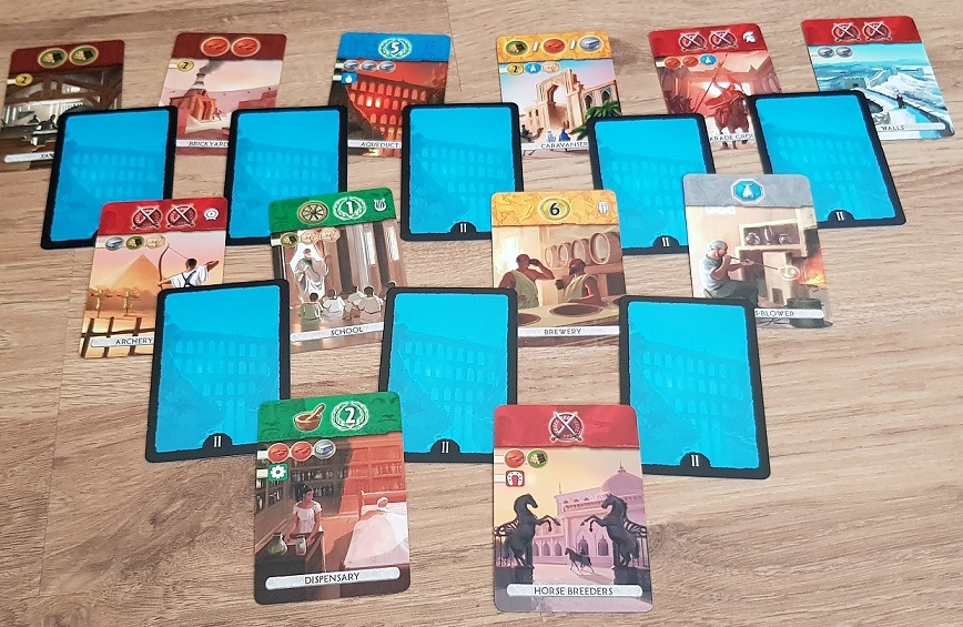 7 wonders duel review age ii
