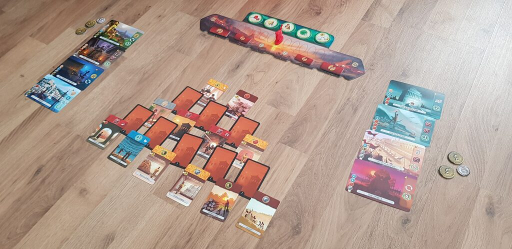 7 wonders duel review setup