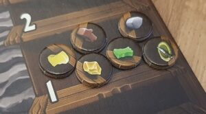 Caverna Cave vs Cave Review Cardboard Markers