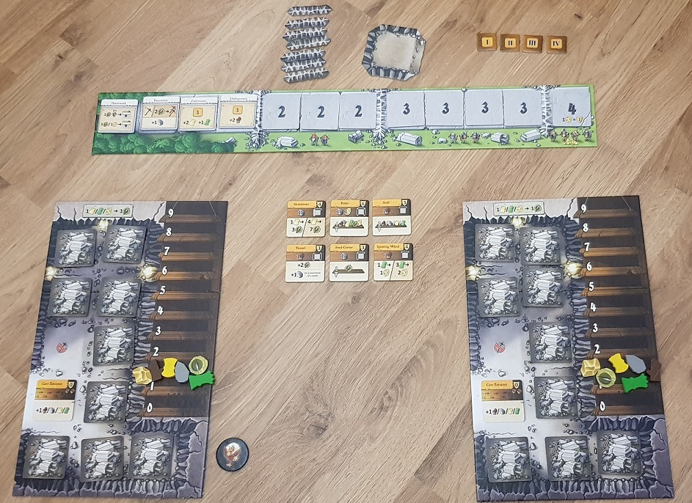 Caverna Cave vs Cave Review Setup
