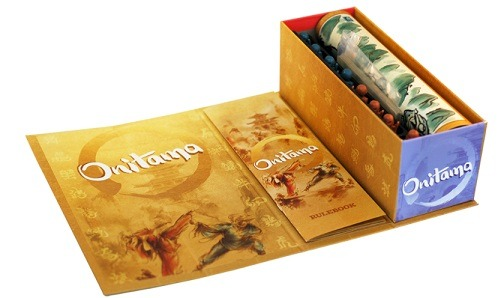 best abstract board games onitama opened box