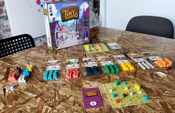 best abstract board games tiny towns