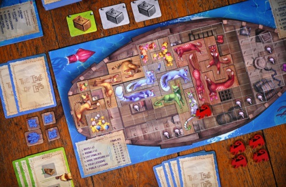 top 10 family board games the isle of cats ship