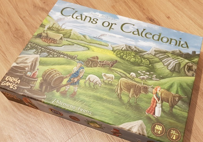 clans of caledonia review box