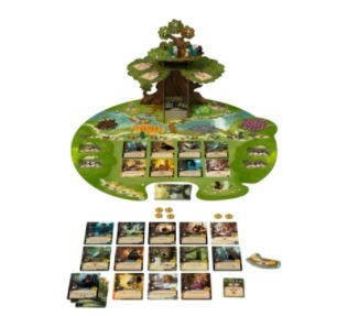 top 10 family board games everdell setup on table