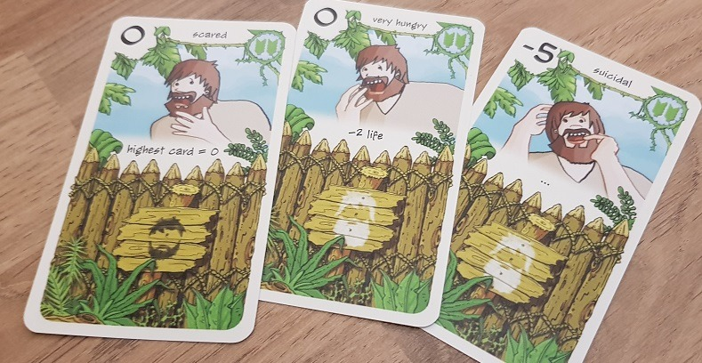 friday board game review aging cards
