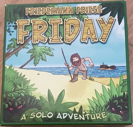 friday board game review box