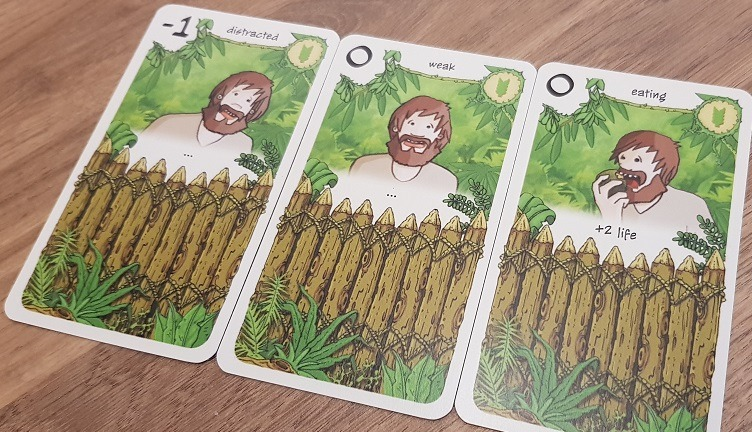 friday board game review early fighting cards